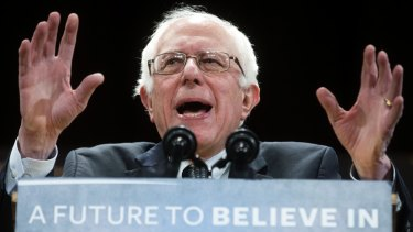 Voter revolt: A marginal figure six months ago, Bernie Sanders has fought to a stalemate with Hillary Clinton.