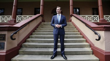 NSW Planning Minister Rob Stokes at Parliament House.