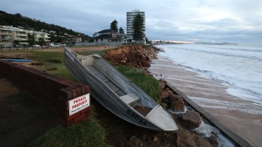 Collaroy, the morning after the big storm.