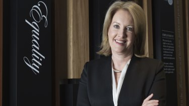 Sex Discrimination Commissioner Elizabeth Broderick says male bosses should set an example.