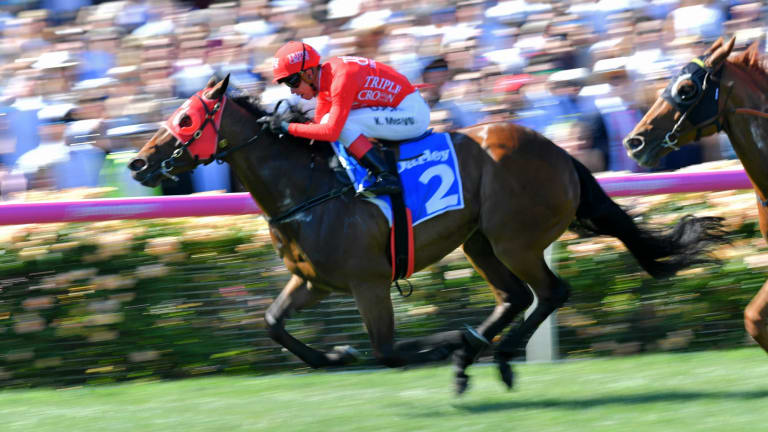 Kerrin McEvoy storms home on Redzel