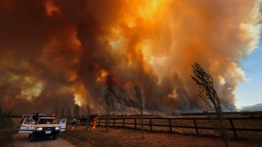 Victoria's worst bushfires have all occurred in early to mid-February.