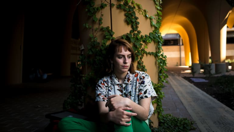 Amelia Walters is a headspace ambassador after experiencing mental health problems at university.