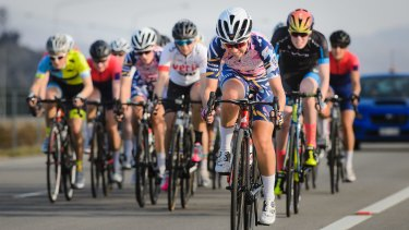 Stage two of the women's  National Capital Tour.