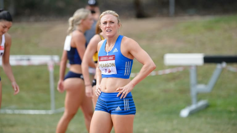 """Sally Pearson was """"very disappointed"""" with her win in the women's 100m hurdles."""