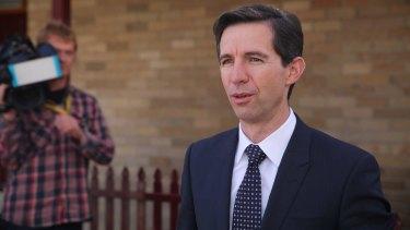 Education Minister Simon Birmingham dumped both the Gillard and Abbott funding plans.