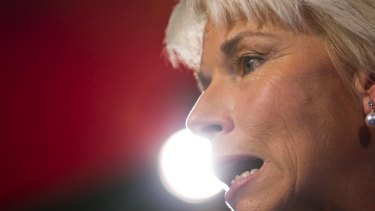 """""""Lonely position"""": Gail Kelly was in the spotlight as one of a mere handful of women leading ASX 200 companies."""
