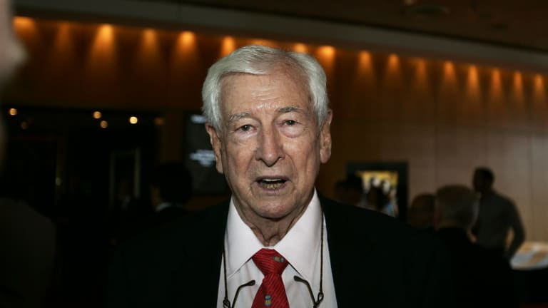 Fighting CBS's takeover of Ten in court: WIN's billionaire owner Bruce Gordon.