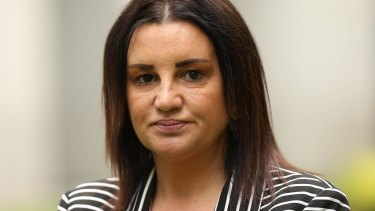 Tasmanian senator Jacqui Lambie has evolved quickly as a politician.