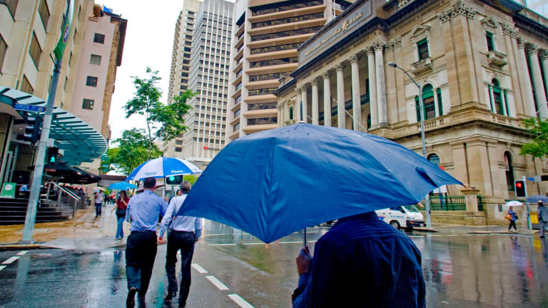 Brisbane's northern suburbs are set to receive between 20 and 30 millimetres of rain on Wednesday.