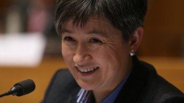 Senator Penny Wong questioned DFAT officials in Senate estimates.
