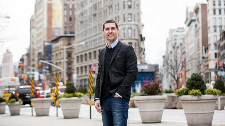 Chief executive and co-founder of Unlockd Matt Berriman in New York.