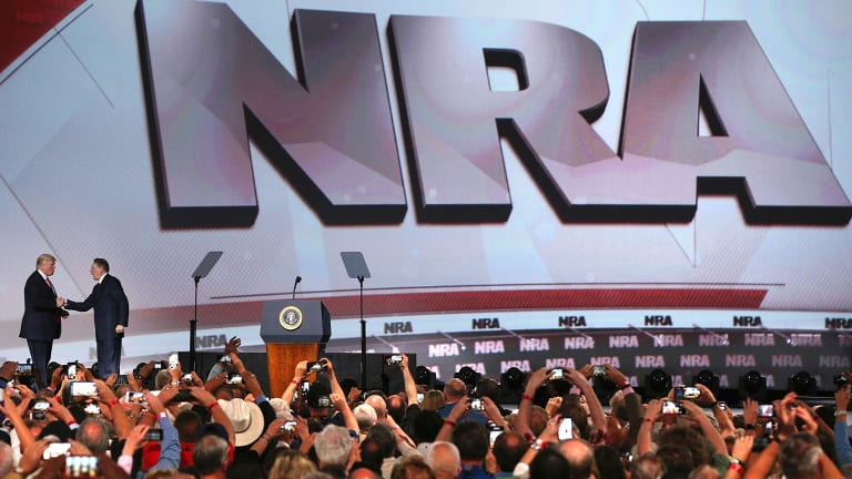 A version of the Freedom Team app was tailored for the National Rifle Association's lobbying arm.