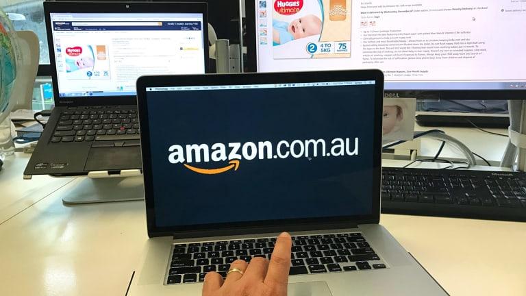 Amazon Australia's website is now operational.