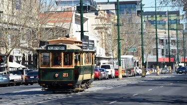 Bendigo trams are a popular tourist attraction.