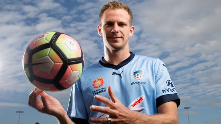 In demand: Sydney FC defender Alex Wilkinson.