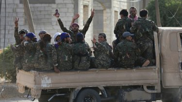 Kurds and Arabs have fought side by side in the assault against the Islamic State group in Raqqa.