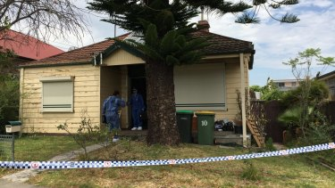 Police search Vinzent Tarantino's childhood home on Monday as they look for Quanne Diec's remains.