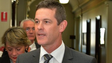 Nationals Morwell MP Russell Northe.