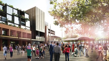 Plans for the Munro project include open space, 308 apartments and 56 affordable housing units.