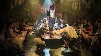 Spamalot review: Monty Python's feudal frolic is not dead yet