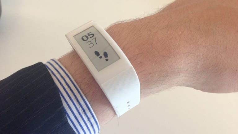 The SmartBand Talk comes in black and white.