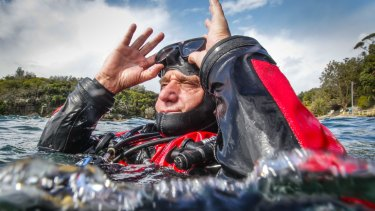 President of the Dive Association of Australia, Richard Nicholls.