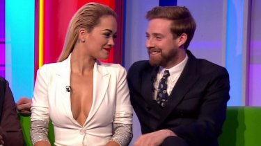 Family fare: Rita Ora showed too much cleavage for many viewers of <i>The One Show</i>.