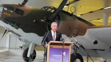 A Lockheed Hudson bomber, part of the Australian War Memorial's collection is now on display at Canberra Airport. Lockheed Hudson Bomber A16-105 goes on display at Canberra Airport