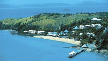 The now-closed Club Med Lindeman Island resort