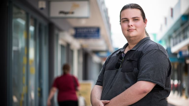 """""""I don't have any work experience so it's been hard,"""" says Zak Pawliw, who is taking part in a youth employment project in Penrith."""