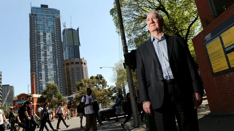 RMIT planning professor Michael Buxton.