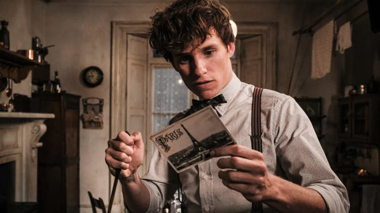 Eddie Redmayne reprises his role as Newt Scamander in the latest <i>Fantastic Beasts</I> film.