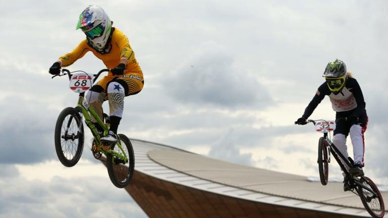 Caroline Buchanan in action at the London Olympics.