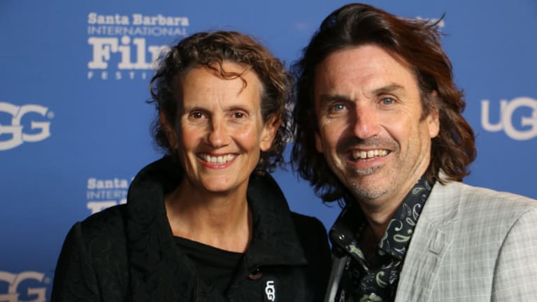 Kate McIntyre Clere and Mick McIntyre, the makers of Kangaroo: A Love-Hate Story.
