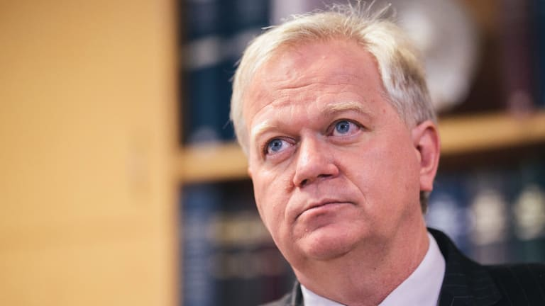 ANU vice-chancellor Brian Schmidt. The university's application for self-insurance was approved last week.