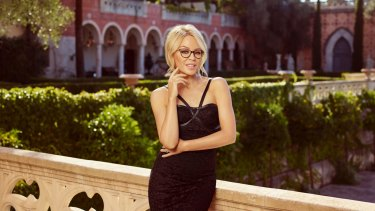 c3748cb2a7 A shot from the campaign for Kylie Minogue Eyewear