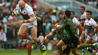 Another to go: Rugged prop Keith Galloway has left the Wests Tigers.
