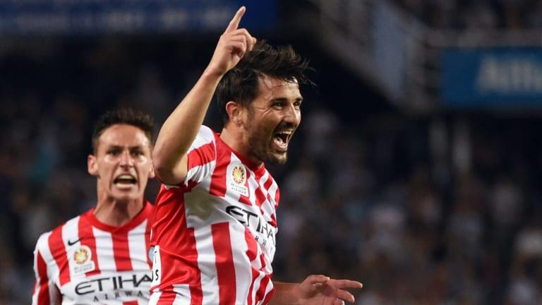 World-class talent: David Villa.