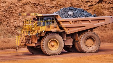 Iron ore for immediate delivery to China's Tianjin port gained 0.9 per cent to $US56.90 a tonne, the highest since July 1, according to The Steel Index.