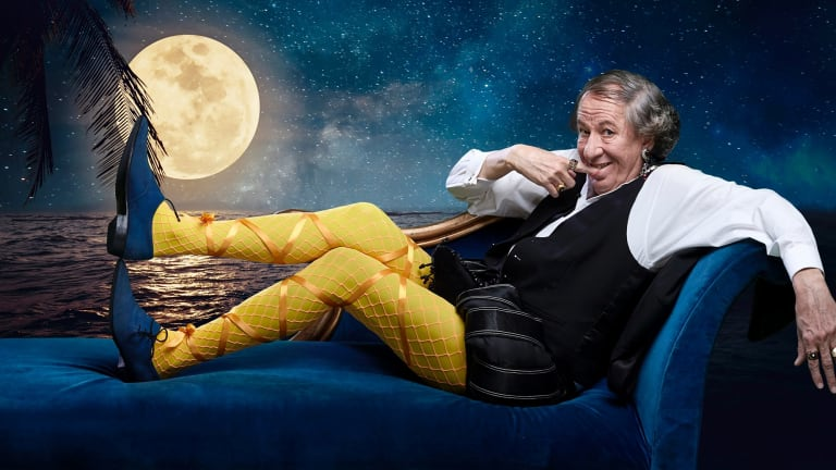 Geoffrey Rush in tights - what's not to love?