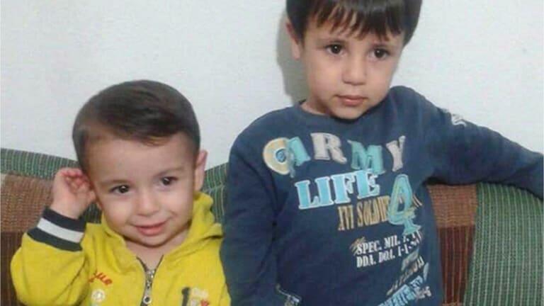 Aylan Kurdi, left, and his brother Galip.