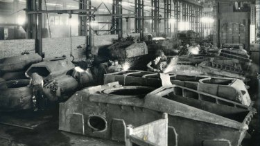 A top-secret tank program that operated during World War II in Fishermans Bend.