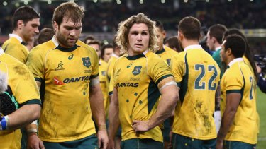Life's good at the top: The Wallabies get $14,000 a game - win, lose or draw.