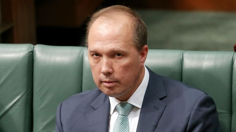 """A spokeswoman for Immigration Minister Peter Dutton said the government made no apologies for strengthening deportation laws """"to further protect the Australian community""""."""