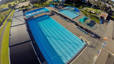Police were called to the Lambton Pool on Durham Road about 5pm on Tuesday.