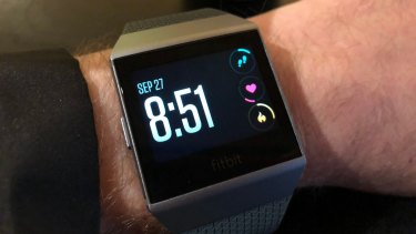 The ionic looks better on the wrist than you might expect.