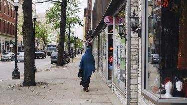 The Somali community and its family-run shops have helped re-energise run-down Lisbon Street in Lewiston, Maine, and the city's economy has steadily improved.