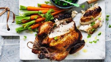 Classic Roast Chicken.