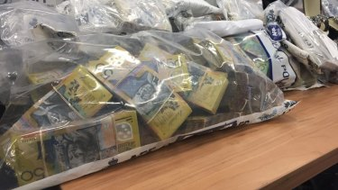 Police seized $1 million from a safe deposit box during the Plutus raids.